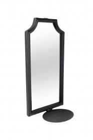 Little Soho Living | Muur kaarsenhouder met spiegel Black Wall | zwart  | Afbeelding 1
