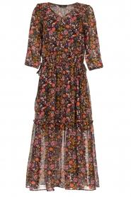 Set |  Floral maxi dress Mui | print  | Picture 1