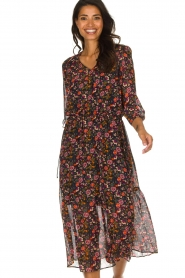 Set |  Floral maxi dress Mui | print  | Picture 2