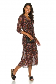 Set |  Floral maxi dress Mui | print  | Picture 3