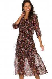 Set |  Floral maxi dress Mui | print  | Picture 5