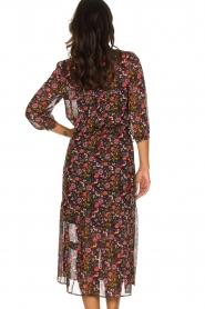 Set |  Floral maxi dress Mui | print  | Picture 7
