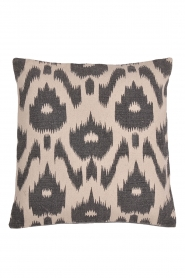 Little Soho Living |  50x50 Printed cushion cover Edha | natural  | Picture 1