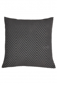 Little Soho Living |  50x50 Zigzag cushion cover Bay | black   | Picture 1