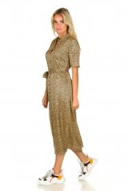 Set |  Leopard printed midi dress Moose | animal print  | Picture 3