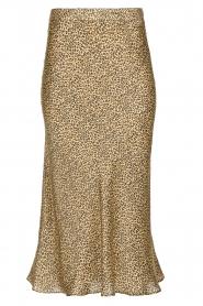 Set |  Leopard printed midi skirt Mowgli | animal print  | Picture 1