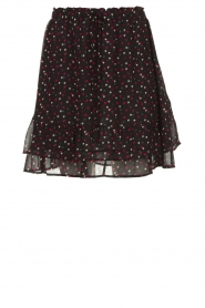 Set |  Heart printed skirt Mies | black  | Picture 1