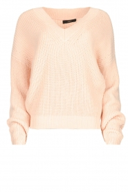Set |  Knitted sweater Miha | pink  | Picture 1