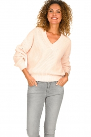 Set |  Knitted sweater Miha | pink  | Picture 2