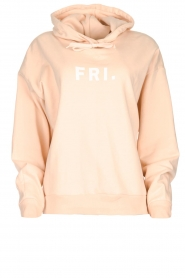 Set |  Hoodie with text print Marnie | pink  | Picture 1