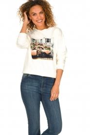 Set | Sweatshirt met opdruk Mully | naturel  | Afbeelding 4