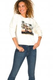 Set | Sweatshirt met opdruk Mully | naturel  | Afbeelding 2