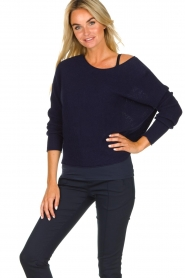Set |  Sweater Jackie | blue  | Picture 2