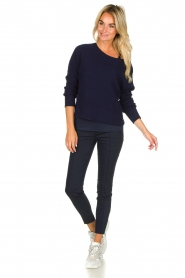 Set |  Sweater Jackie | blue  | Picture 3