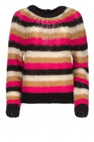 Set |  Striped sweater Mawa | black  | Picture 1