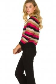 Set |  Striped sweater Mawa | black  | Picture 5
