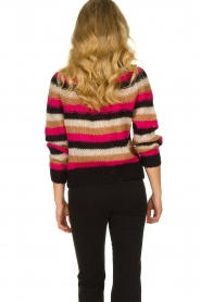 Set |  Striped sweater Mawa | black  | Picture 6