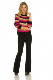 Set |  Striped sweater Mawa | black  | Picture 3