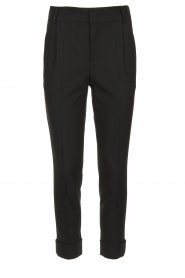 Set |  Classic trousers Murphy | black