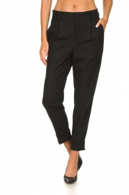Set |  Classic trousers Murphy | black  | Picture 2