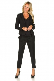 Set |  Classic trousers Murphy | black  | Picture 3