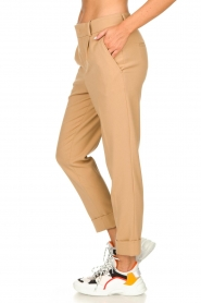 Set |  Classic trousers Murphy | camel  | Picture 4
