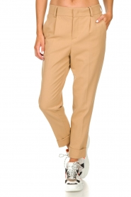 Set |  Classic trousers Murphy | camel  | Picture 3