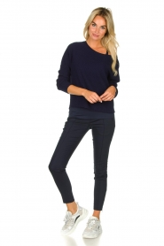 Set |  Classic trousers Mirthe | blue  | Picture 2