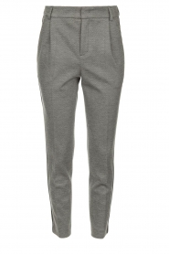 Set |  Melange trousers Mosy | grey  | Picture 1