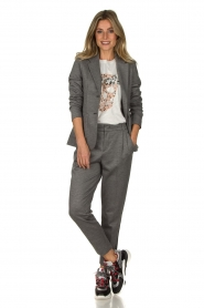 Set |  Melange trousers Mosy | grey  | Picture 3