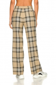 Set |  Checkered trousers Murielle | camel  | Picture 6