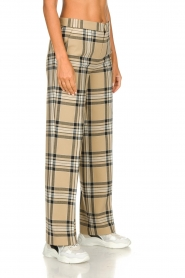 Set |  Checkered trousers Murielle | camel  | Picture 5