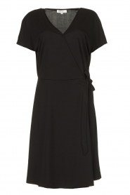 Les Favorites |  Wrap dress Abby | black  | Picture 1