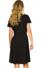 Les Favorites |  Wrap dress Abby | black  | Picture 6