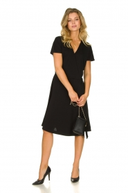 Les Favorites |  Wrap dress Abby | black  | Picture 3