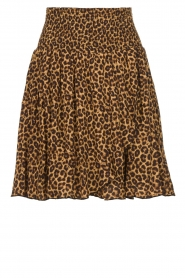 Les Favorites | Skirt with leopard print | Fleur  | Picture 1