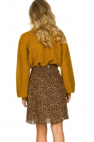 Les Favorites | Skirt with leopard print | Fleur  | Picture 5