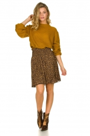 Les Favorites | Skirt with leopard print | Fleur  | Picture 3
