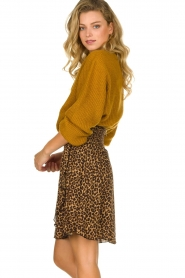 Les Favorites | Skirt with leopard print | Fleur  | Picture 4