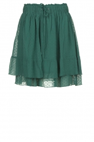 Les Favorites |  Dotted ruffle skirt Marli | green  | Picture 1