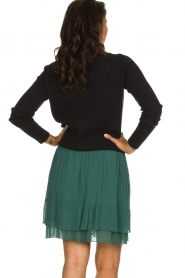Les Favorites |  Dotted ruffle skirt Marli | green  | Picture 5