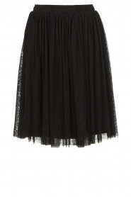 Les Favorites |  Pleated skirt Lilly | black  | Picture 1