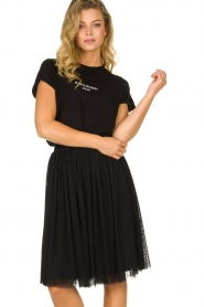 Les Favorites |  Pleated skirt Lilly | black  | Picture 2