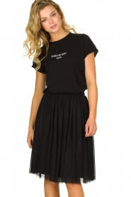 Les Favorites |  Pleated skirt Lilly | black  | Picture 4