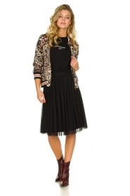 Les Favorites |  Pleated skirt Lilly | black  | Picture 3