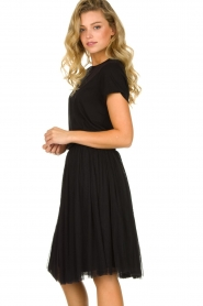 Les Favorites |  Pleated skirt Lilly | black  | Picture 5