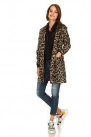 Les Favorites |  Leopard print cardigan Kris | animal print  | Picture 3