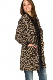 Les Favorites |  Leopard print cardigan Kris | animal print  | Picture 4