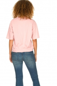 IRO |  T-shirt with logo print Olcott | pink  | Picture 5