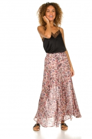 IRO |  Printed maxi skirt Diamond | pink  | Picture 2